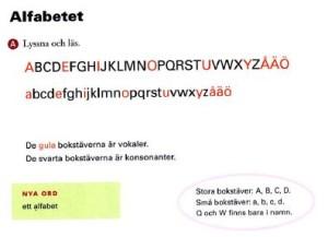 mål 1 alfabett